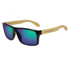 Stingray Breez Bamboo Shiny Black Polarized Sunglasses