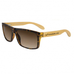 Stingray Breez Bamboo Matte Demi Polarized Sunglasses