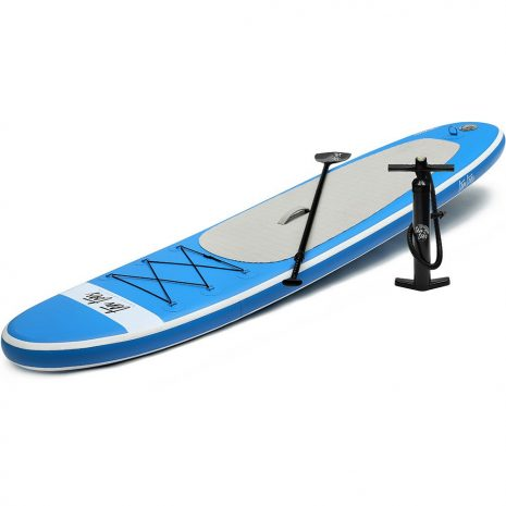 Ten Toes 10 Weekender iSUP ESS Electric Surf Sports Blue Side