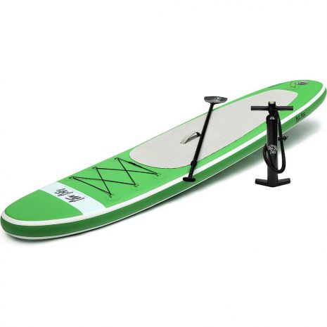 Ten Toes 10 Weekender iSUP ESS Electric Surf Sports Green Side