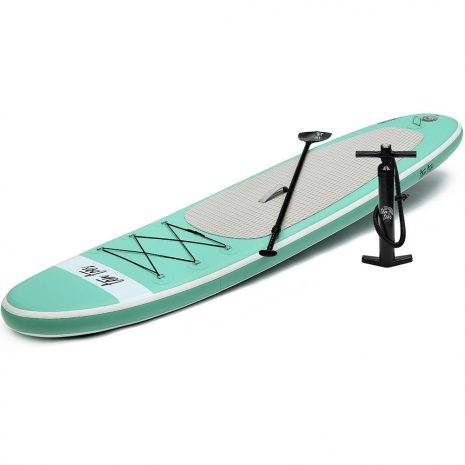 Ten Toes 10 Weekender iSUP ESS Electric Surf Sports Seafoam Side