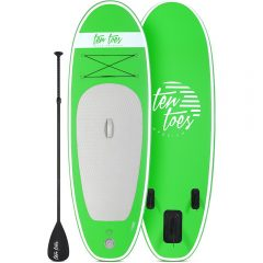 nano 8' inflatable stand up paddleboard iSUP