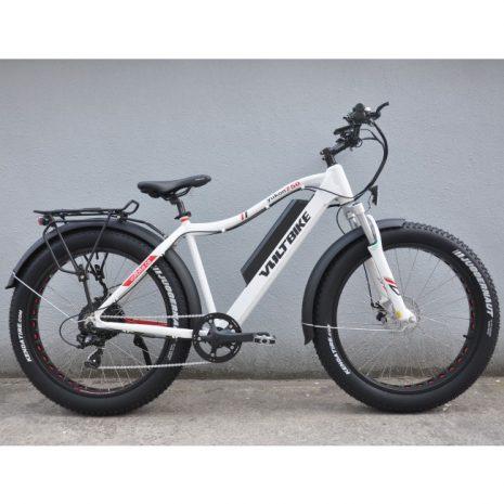 Voltbike yukon 750W electric powered mountain bike white LTD 2 electric surf sports