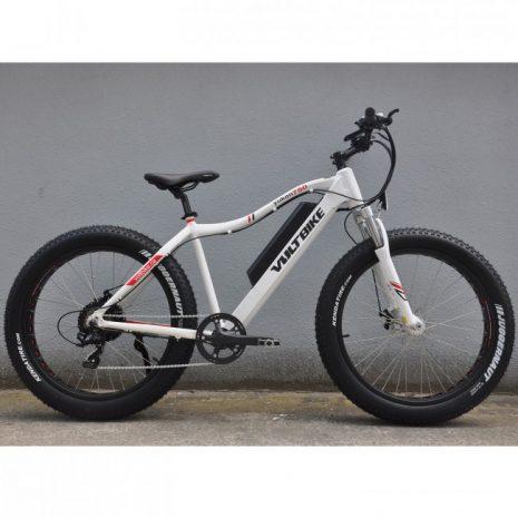 Voltbike yukon 750W electric powered mountain bike white electric surf sports