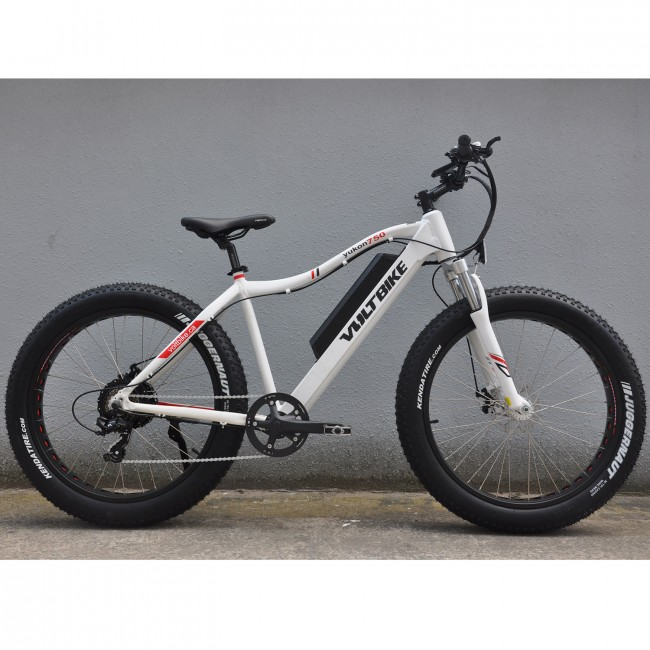Voltbike Yukon 750w Electric Ed Mountain Bike White Surf Sports