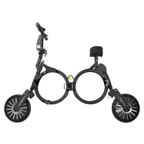 Jupiter Foldable Electric Bike Black