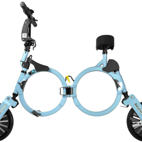 Jupiter Bike Folding Electric Bike Blue