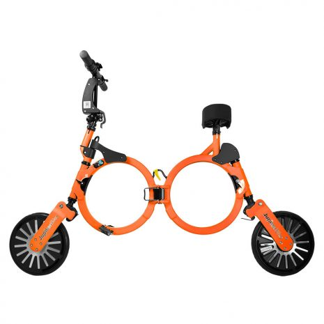 Jupiter Foldable Electric Bike Orange