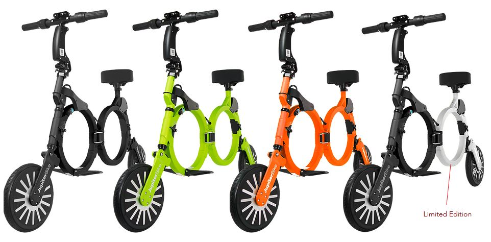 Jupiter Bike Line up and Colors