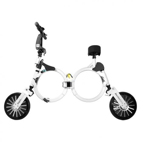Jupiter Bike Folding Electric Bike White