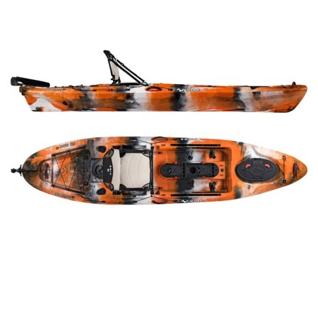 Vibe Sea Ghost 110 Orange Camo