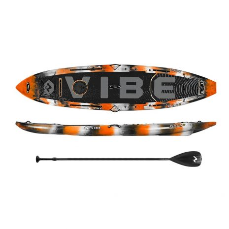 Vibe Maverick 120 SUP Orange Camp with Roamer Paddle