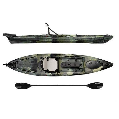 Vibe Kayak Sea Ghost 130 Hunter Camo with Journey Paddle
