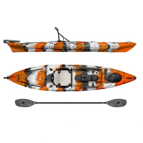 Vibe Kayak Sea Ghost 130 with Grey Evolve Paddle