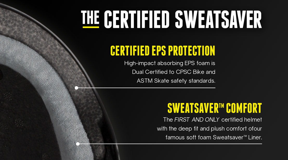 Triple 8 Certified Sweat Saver Tech