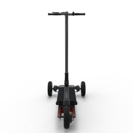 Cycleboard Sport Carbon Back View