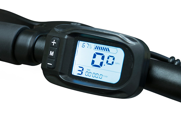 Bright LCD Display Jupiter Bike Discovery