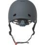 Triple 8 Gotham Helmet Black Rubber Back