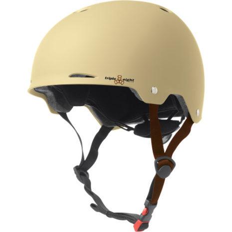 Triple 8 Gotham Helmet Cream Rubber