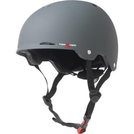 Triple 8 Gotham Helmet Gray
