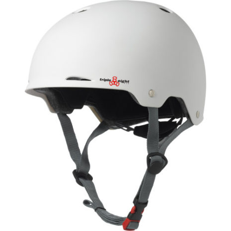 Triple 8 Gotham Helmet White