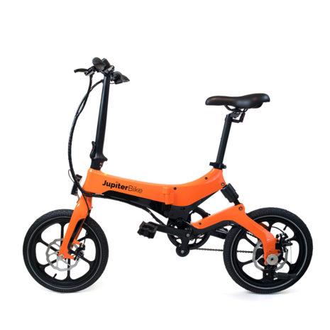 Jupiter Bike Discovery Orange Profile
