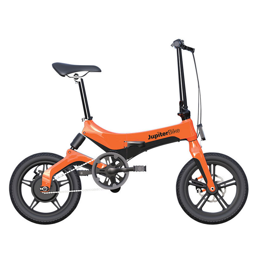 JupiterBike Discovery Orange Side