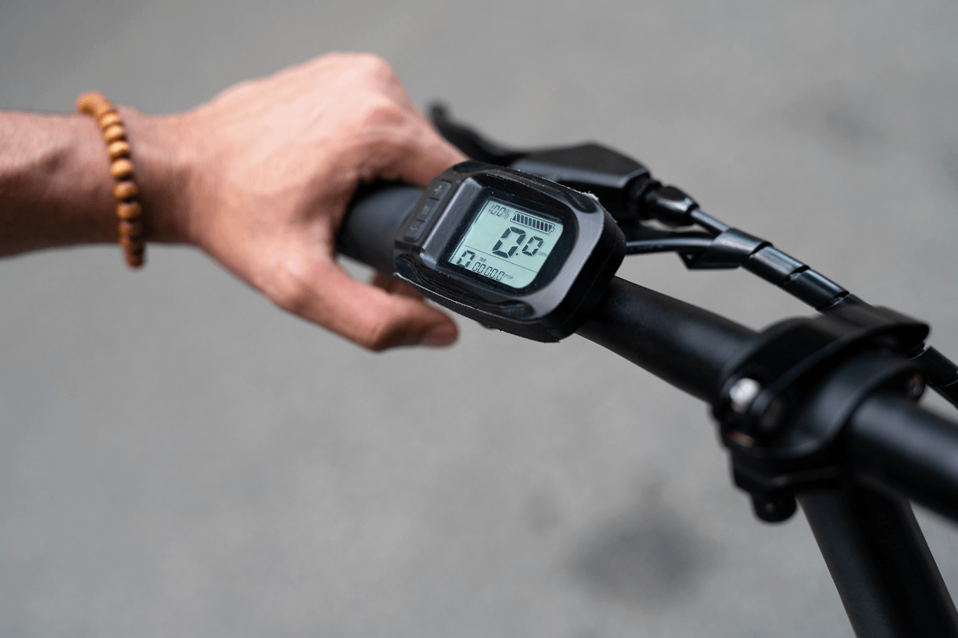 JupiterBike Discovery LCD Screen