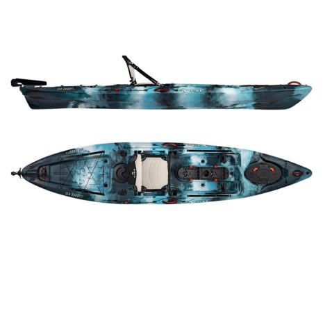2019 Vibe Sea Ghost 130 Blue Camo