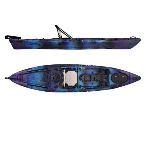 2019 Vibe Sea Ghost 130 Galaxy Camo
