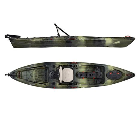 2019 Vibe Sea Ghost 130 Hunter Camo