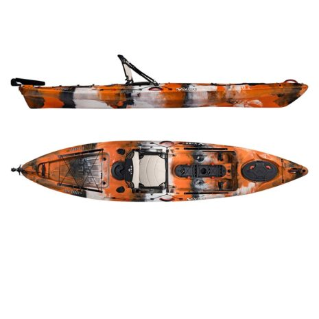 2019 Vibe Sea Ghost 130 Orange Camo