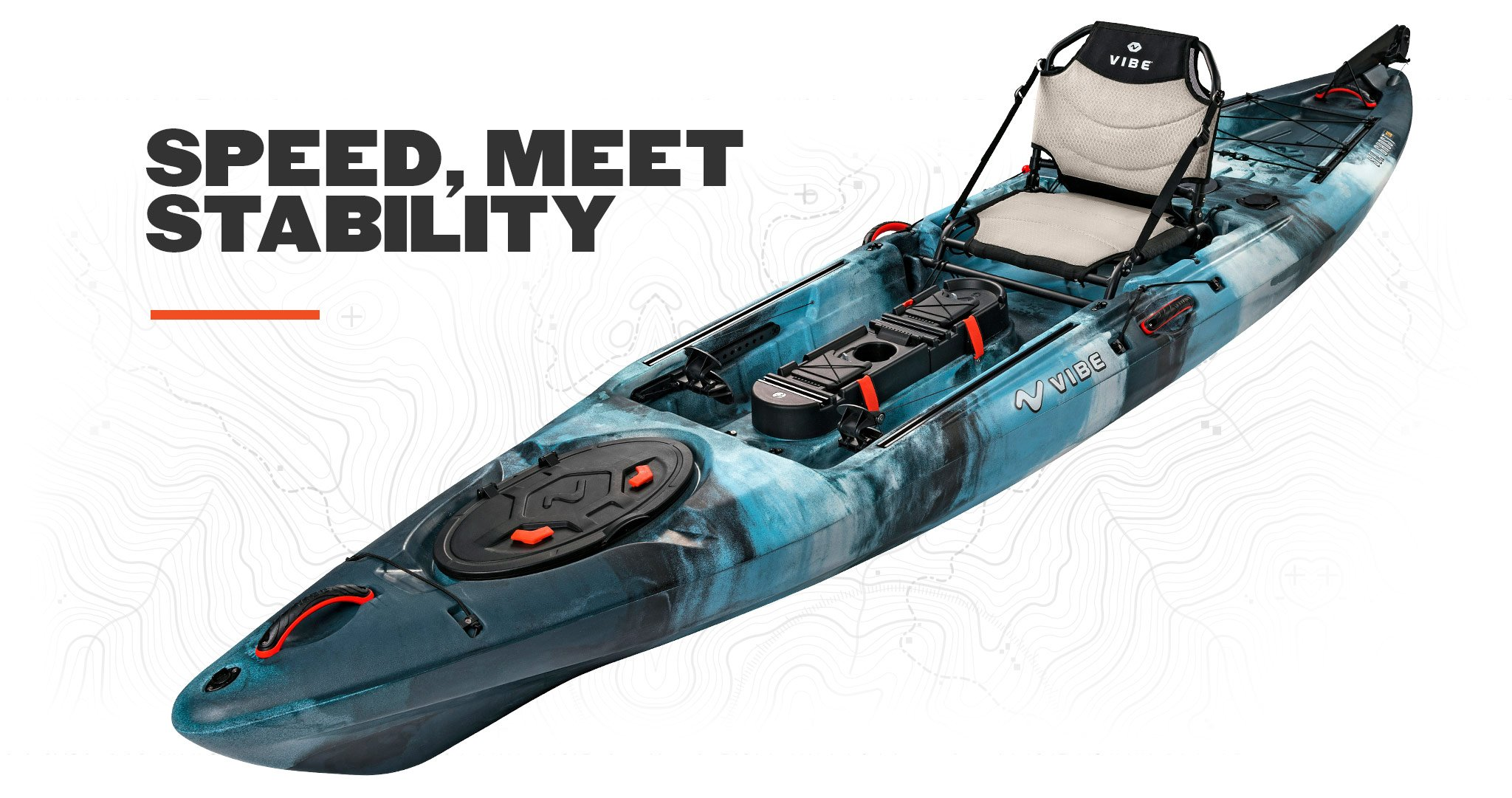 2019 Vibe Sea Ghost 130 Speed Meet Stability