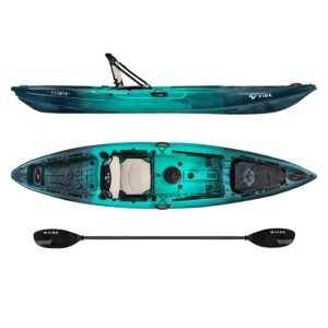 Vibe Yellowfin 120 Caribbean Blue Journey Paddle