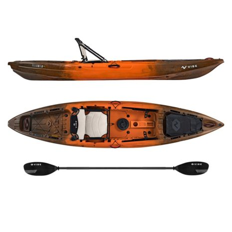 Vibe Yellowfin 120 Wildfire Journey Paddle
