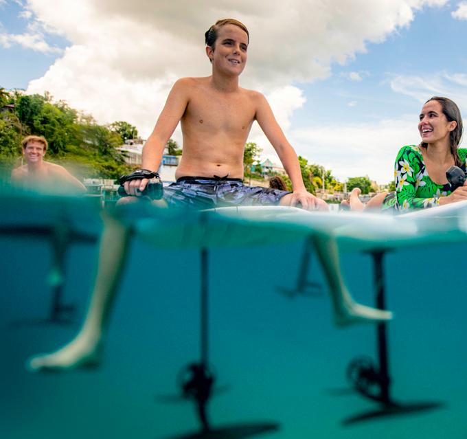 lift foils Electric surf sports lessons