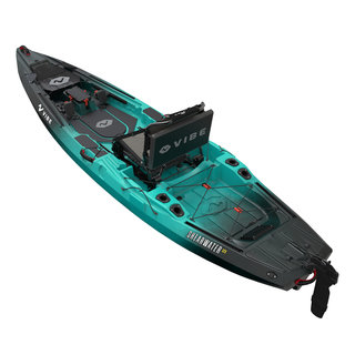 Vibe shearwater 125 Caribbean Blue top back
