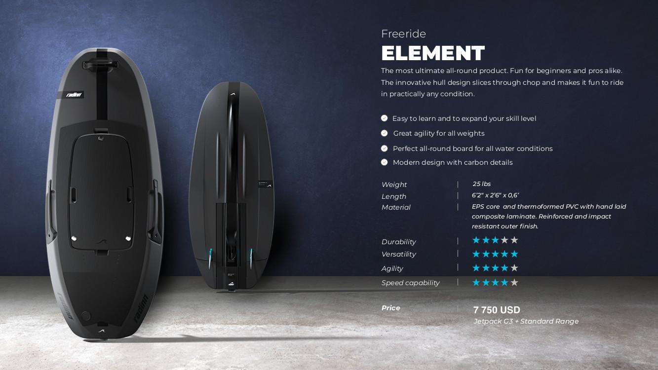 Radinn Freeride Element Spec