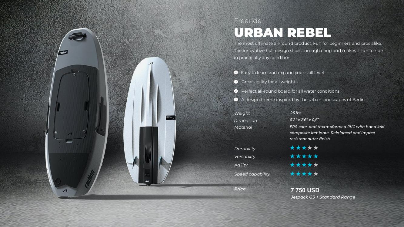 Radinn Freeride Urban Rebel Spec
