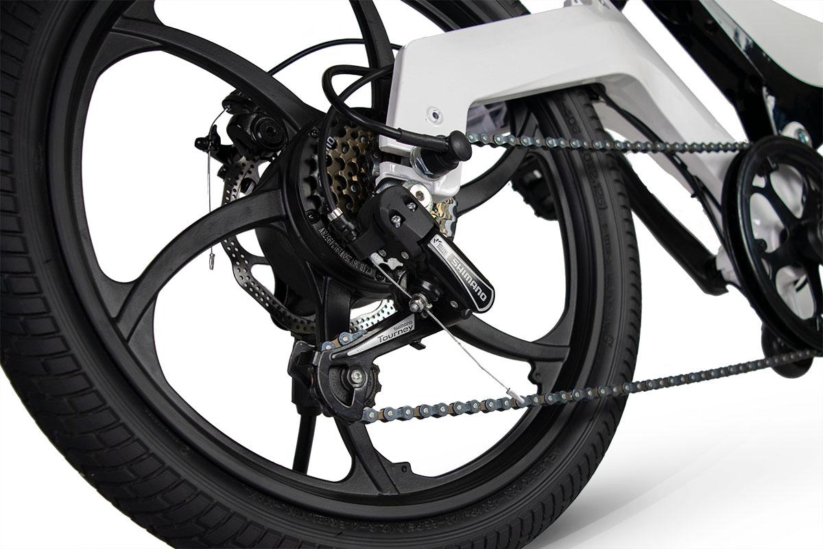 Jupiter Bike Discovery X7 7 Six Speed Shimano Gears