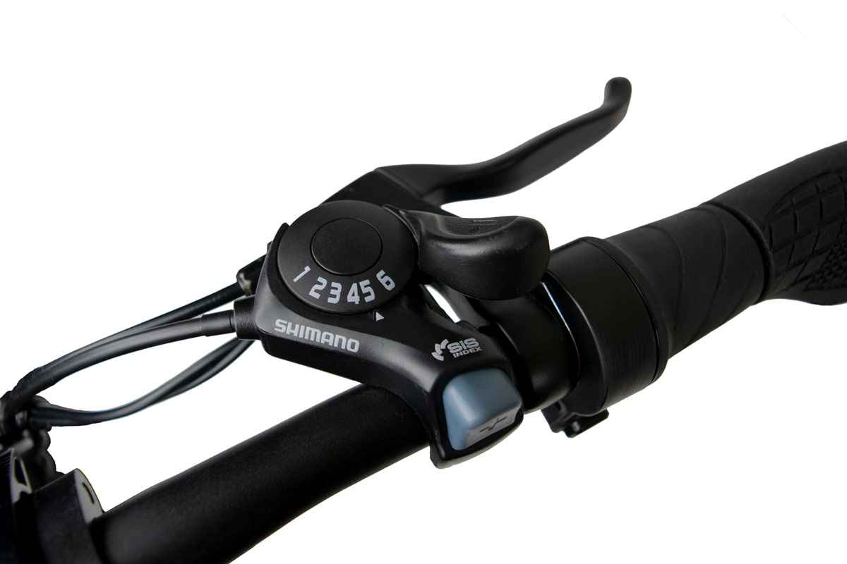 Jupiter Bike Discovery X7 Six Speed Shimano Gear Shift