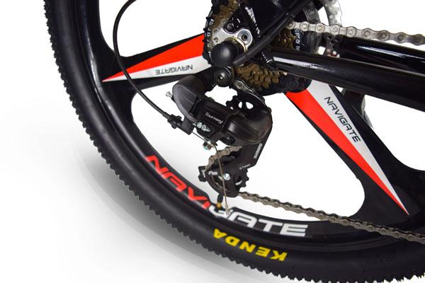 Jupiter Bike Summit Folding Electric Mountain Bike deraileur