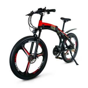 JupiterBike Summit Folding Electric Mountain Bike left angle