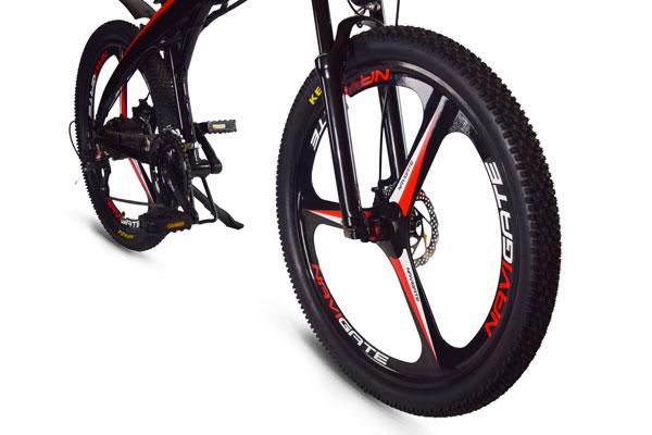 Jupiter Bike Summit Folding Electric Mountain Bike mag wheels