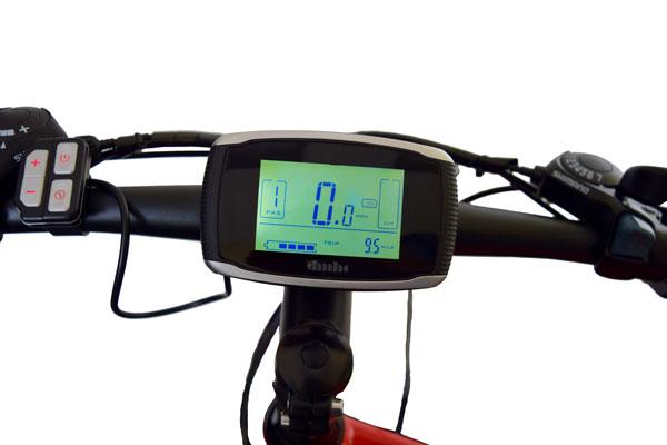 Jupiter Bike Summit Folding Electric Mountain Bike display