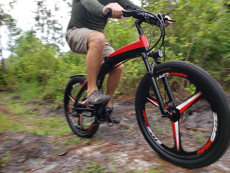 Jupiter Bike Summit Folding Electric Mountain Bike banner